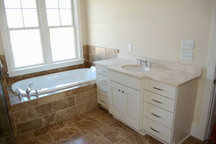 New Construction Coastal Bath Kitchen Additions – Bathroom Construction